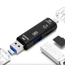 Smart Otg 3in1 Type-C Ve Micro Usb Tf Card Reader Otg
