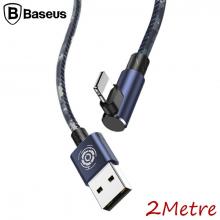 BASEUS İPHONE XS,XR,7-8 CAMOUFLAGE 2METRE OYUNCU USB ŞARJ KABLOSU 1.5A
