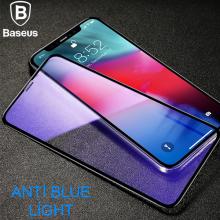 BASEUS İPHONE X,XS 0.3MM RİGİD EDGE ANTİ BLUE LİGHT KIRILMAZ CAM KORUYUCU