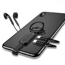 ALLY İPHONE DUAL KULAKLIK+ŞARJ USB ADAPTÖRÜ XS-XR-7-8