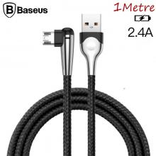 BASEUS MVP MOBİL OYUNCU MİCRO USB 2.4A HIZLI ŞARJ KABLOSU 1 METRE