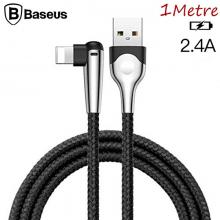 BASEUS MVP İPHONE XS,XR-7-8 İÇİN 2.4A HIZLI ŞARJ KABLOSU 1 METRE MOBİL OYUNCU USB