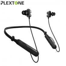 Plextone BX345 Çift Dinamik Hoparlor Necklace Bluetooth Kulaklık