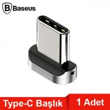 Baseus Zinc Magnetic Manyetik Usb Type C Başlık