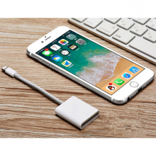 İPhone/İPad Lightning To SD Kart Hafıza Kart Adaptörü NK105