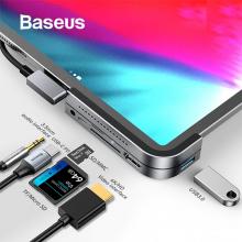 BASEUS Bend Angle No.7 HDMİ USB 3.0 USB 6in1 USB TYPE C Adeptör