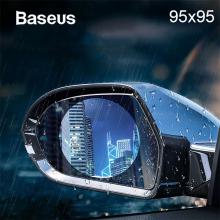 Baseus 95X95 Anti Sis Yağmur Geçirmez Hidrofobik dikiz aynası Film 2 adet