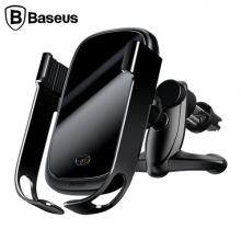 Baseus Rock-Solid Tam Otomatik 10W Wireless Kablosuz Araç Şarj Tutucu