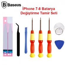 Baseus İPhone 7 Batarya Değiştirme Tamir seti
