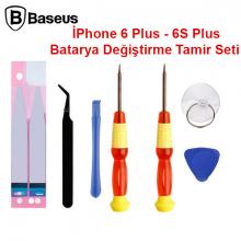 Baseus İPhone 6 Plus - 6S Plus Batarya Değiştirme Tamir seti