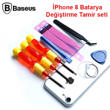 Baseus İPhone 8 Batarya Değiştirme Tamir seti