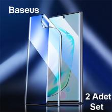 Baseus Sm Galaxy Note 10+Plus Full Ekran Koruyucu 0.15mm 2 Adet Set