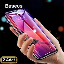 Baseus İPhone 11 Pro Max /6.5 İPhone XS Max 3D full Kırılmaz Cam Ekran Koruyucu 2 adet