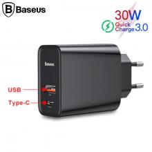 Baseus Pps Hızlı Şarj Qc 4.0,3.0 30W Hızlı Şarj Başlık,Ccfs-C01