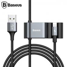 Baseus İPhone Usb Kablo+ Araba Arka Koltuk Çift Usb Çoğaltıcı/Special Data Cable for Backsea