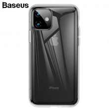 Baseus Safety Airbags İPhone 11 6.1 2019 Kılıf Şeffaf Darbe Emici Slikon Kılıf