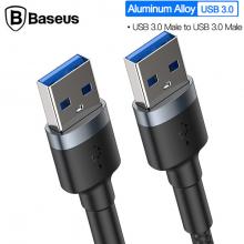 Baseus cafule Kablo USB3.0 Male TO USB3.0 Male 2A İki Ucu Usb  Erkek Kablo 1M