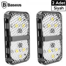 Baseus Door open warning light- Araba Kapı Açılınca Yanan Uyarı ışık 2 Adet Set