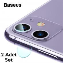 Baseus iPhone11 6.1inch Tempered Kamera Lens Koruma Camı 2Set