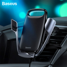 Baseus Aurora Electric QC 3.0 Wireless Kablosuz Şarj Araç Tutucu