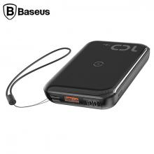 Baseus Mini S Bracket 10000mAh 10W Wireless Kablosuz Şarj Power bank 18W