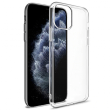 İPhone 11 Pro 5.8 inch 2019 Ultra Slim Fit Şeffaf Silikon Kılıf
