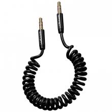 USAMS US-SJ256 Spring 3.5MM Aux Ses Aktarım Kablosu 1.2M