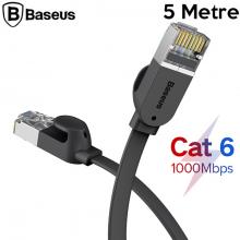 Baseus high Speed Six types of RJ45 Gigabit Ethernet kablosu (round cable)5metre