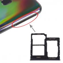 SM Galaxy A40 SM-A405F Sim Hafıza Kart Kapağı Tutucu