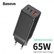 Baseus GaN 65W 4.0 3.0 Usb C PD Hızlı Şarj 3 Port Usb Şarj Aleti