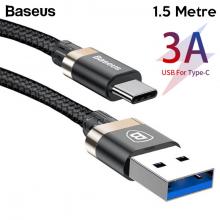Baseus Golden Belt Usb 3.0 Type C Halat Usb Kablo 1.5 Metre