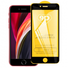 İPhone SE 2020 İP 8 İP7 9D Full Glue Tempered Cam Ekran Koruyucu