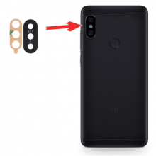 Xiaomi Redmi Note 6 Pro Arka Kamera Camı Lens
