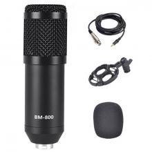 BM800 Condenser Stüdyo Profesyonel Kayıt ve Yayın Mikrofonu Studio