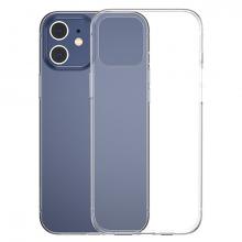 Baseus Simple Case İPhone 12 6.1 İnce Şeffaf Silikon Kılıf