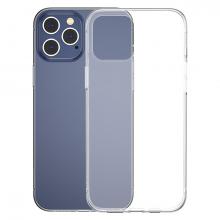 Baseus Simple Case İPhone 12 Pro Max 6.7 İnce Şeffaf Silikon Kılıf