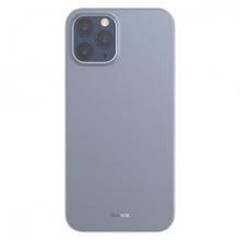 Baseus Wing Case İPhone 12 Pro Max 6.7 Kılıf Ultra İnce Lux Mat Şeffaf Kılıf