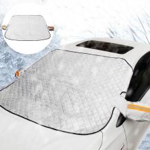 ALLY Araç Oto Cam Brandası Kar Buz Güneş Önleyici Koruyucu Branda-Anti-Don Antifriz Branda