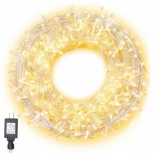 ALLY Dış Mekan Perde Led (3×3 metre 300 Led Sarı Işık