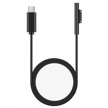 Microsoft Surface Pro 7-6-5 Usb Type C Hızlı Şarj Kablosu 15V 1.50CM