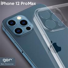 Gor İPhone 12 Pro Max 6.7 İnch Kılıf Kamera Korumalı Şeffaf Silikon Kılıf