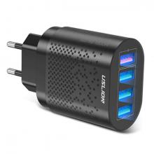 USLİON 4 Port 48W QC 3.0 Hızlı Şarj Usb Şarj Başlık Adaptör