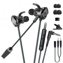 XMOWİ RX3 3,5mm Çift Mikrofonlu Oyuncu Kulaklık Gaming Kulaklığı