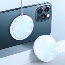 USAMS US-CD155 15W iPhone 12 İçin Ultra İnce Mıknatslı Kablosuz Wireless Şarj
