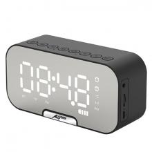 ALLY Q5 Bluetooth Hoparlör FM Radyo Dijital Masa Saati Alarm Uyandırma