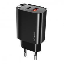 USAMS US-CC121 T35 20W QC3.0 + PD3.0 İPhone İçin Hızlı Şarj Başlık