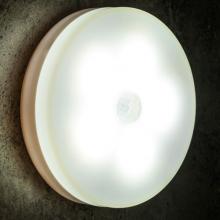 ALLY Akıllı Led Sensorlu Otomatik Usb Şarj Edilebilir Gece Lambası Led