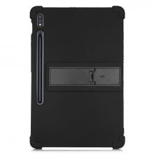 ALLY Galaxy Tab S7 Plus SM-T970 - T975 - 12.4 inç Standlı Silikon Kılıf