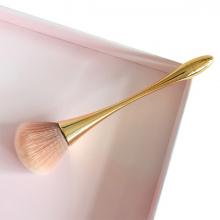 EZERE Altın Makyaj Fırçası Pudra Fırçası Fondöten Fırçası Allık Fırçası