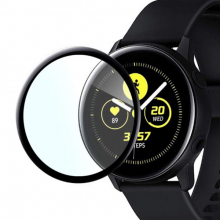SM Galaxy Watch Active 1 R500 3D kavisli PC+PMMA Ekran Koruyucu